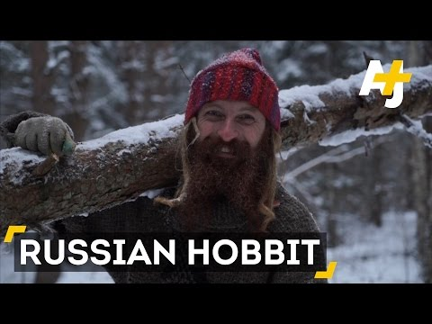 The Russian Hipster Who Lives Like A Hobbit