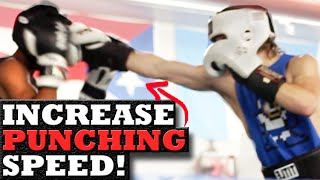 1 Simple Tip to Increase the SPEED of Your Punches