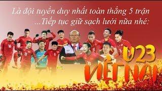 hanh trinh vao ban ket asiad 2018 cua u23 viet nam