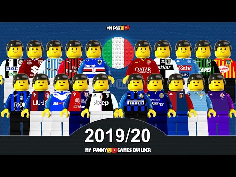 Serie A 2019-20 Season Preview • All Clubs 2019/20 in Lego Football Film