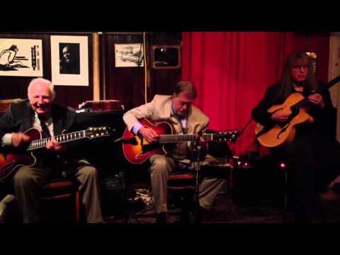 Guitar Trio-Bucky Pizzarelli, Ed Laub, Walt Bibinger online metal music video by BUCKY PIZZARELLI