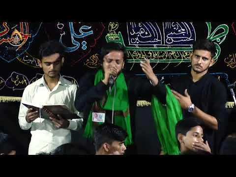 Nauhakhwan Zaheer AbbasShabbedari Sayyadus Shohda a.s.Ismat Colony, Lko2019