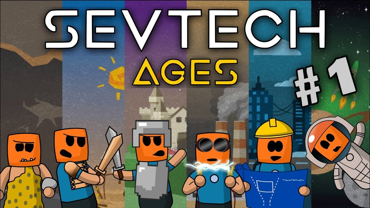 Minecraft - Let's Play, Tutorial age walkthrough - SevTech Ages #1