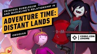 Adventure Time: Distant Lands On Marceline & Princess Bubblegum's Relationship | Comic Con 2020