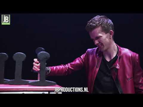 David Nathan - Illusie Show boeken? | JB Productions