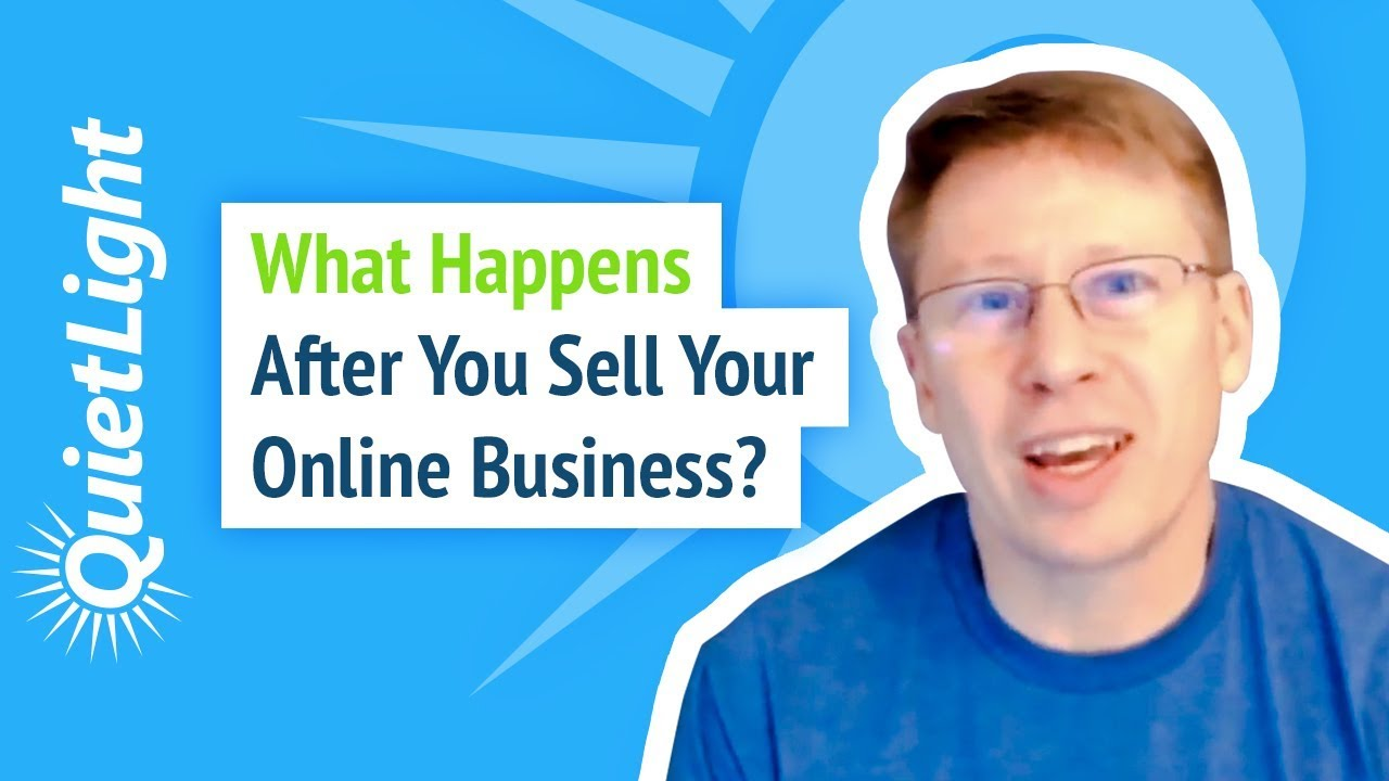 What Happens After You Sell Your Online Business?