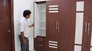 Woodlab Interiors | Best Interior Designers In Bangalore | Master Bedroom Wardrobe Designs