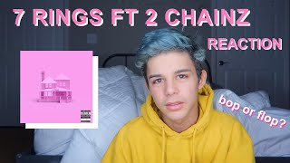 ARIANA GRANDE 7 RINGS REMIX FT 2 CHAINZ REACTION
