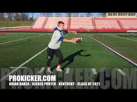 Brian Baker - Ray Guy Prokicker.com Kicker Punter, Class of 2021