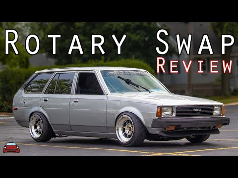 ROTARY SWAPPED TE72 Corolla Review - Puerto Rican Tradition