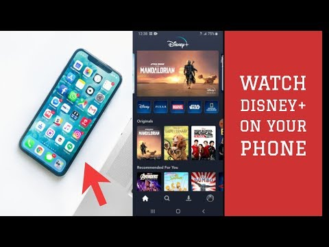 Disney Plus- Watch Disney+ on Your Phone