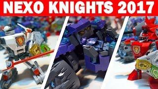 "LEGO NEXO Knights ""Три брата"" и ""Боевые доспехи рыцарей"" [Обзор новинок ЛЕГО 70350/70363/70366]"