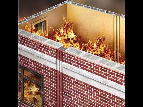 UL/ULC Fire-Rated Expansion Joints for Walls