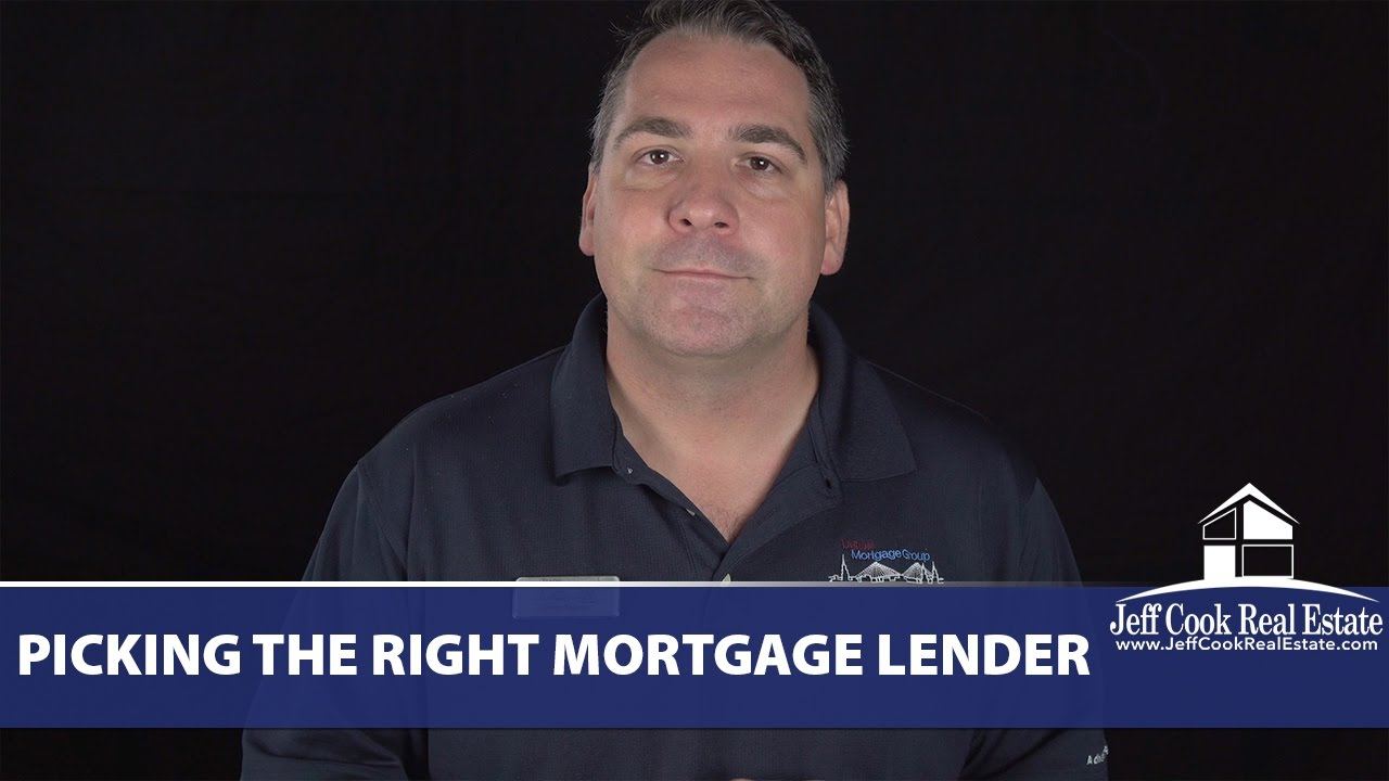 How Do You Know Youre Picking the Right Mortgage Lender?