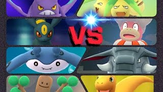 Slowking  - (Pokémon) - Pokémon GO Gym Battles 2 Gyms Slowking Sudowoodo Mantine Donphan Bellossom Gengar & more