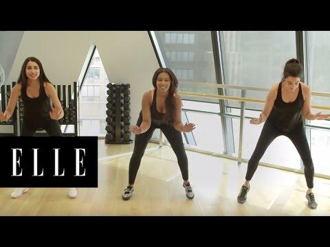 Sports Bras on Three Different Women | ELLE