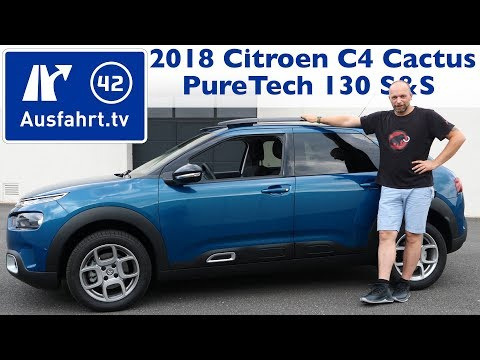2018 Citroen C4 Cactus PureTech 130 S&S Shine - Kaufberatung, Test, Review