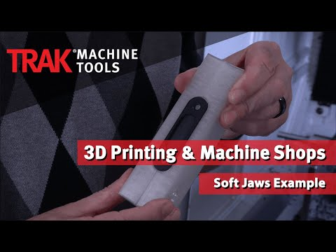 3D Printing & Machine Shops | Soft Jaws Example