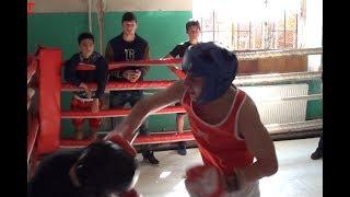 Очередной хороши юниорский бой/Another good junior fight/boxing