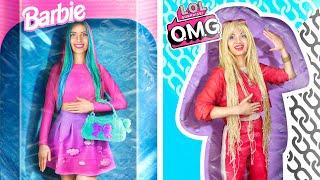 Barbie Kız ve LOL Sürpriz Kız / 24 Saat Mücadelesi