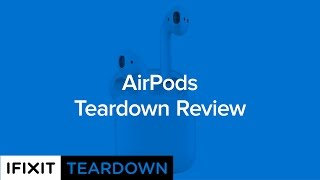 פירוק אוזניות AirPods של אפל