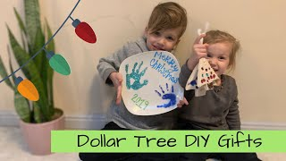Dollar Store DIY Christmas Gifts For Grandparents