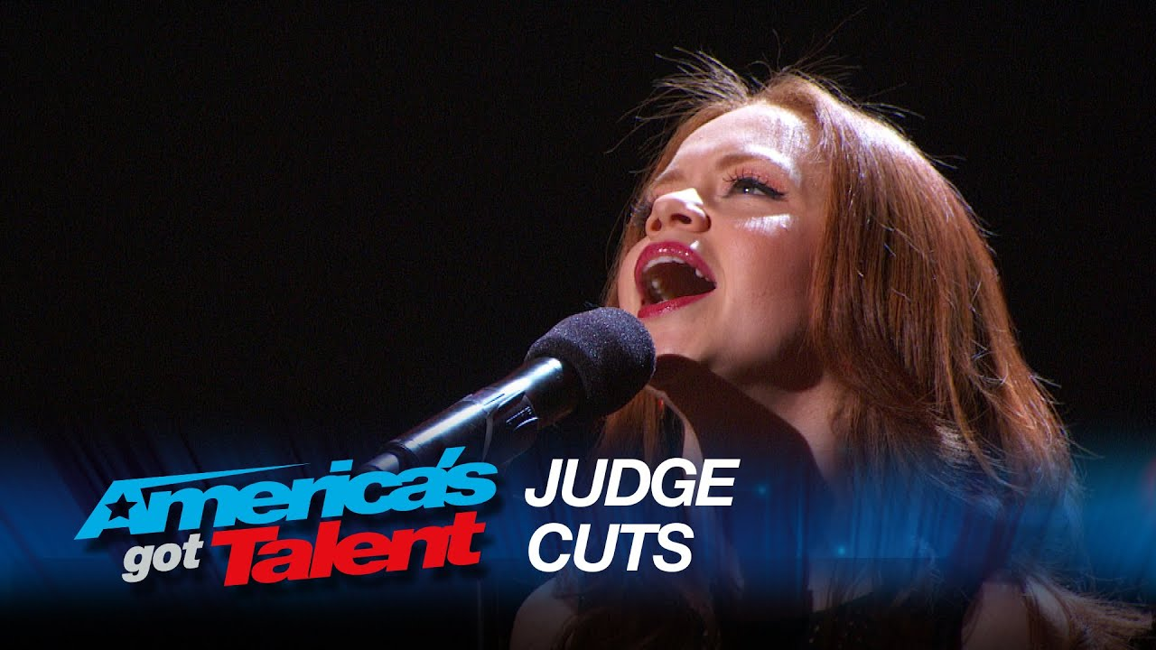"""Daniella Mass: Stunning Multi-Language Cover of """"Don't Cry for Me Argentina"""" - America's Got Talent thumbnail"""