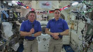 Expedition 63 InFlight event with  Various Media - June 29, 2020