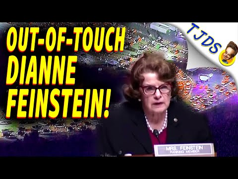 DIANNE FEINSTEIN Out-Of-Touch During Economic Crisis!