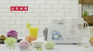 How to use Usha Food Processor 2663