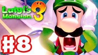 Luigi's Mansion 3 - Gameplay Walkthrough Part 8 - Luigi the Movie Star! (Nintendo Switch)