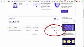 Wie kaufe ich Bitcoin auf Kraken mit Debitkarte