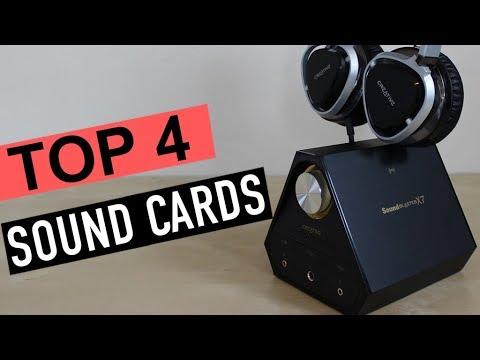 BEST 4: Sound Cards 2018