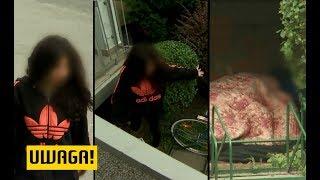 """20-latka od tygodni koczuje pod schodami. """"Kąpię się w fontannie"""" (UWAGA! TVN)"""