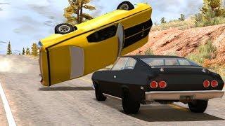 Classic Car Crashes and Fails #1 - BeamNG Drive •Notsofancygames