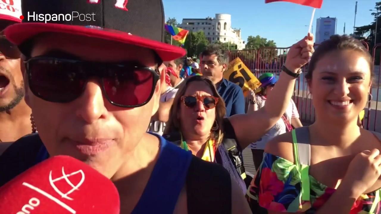 La diversidad fue la protagonista del desfile LGTB de Madrid
