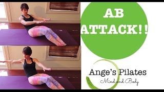 Ange's Pilates Ab Attack 30 Minute Workout by Ange's Pilates