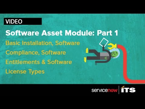 ServiceNow Asset Management Lab (1 of 2) - YouTube