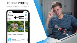 How to Enable Paging in SwiftUI!  - Building the App Store (Pages : Xcode)