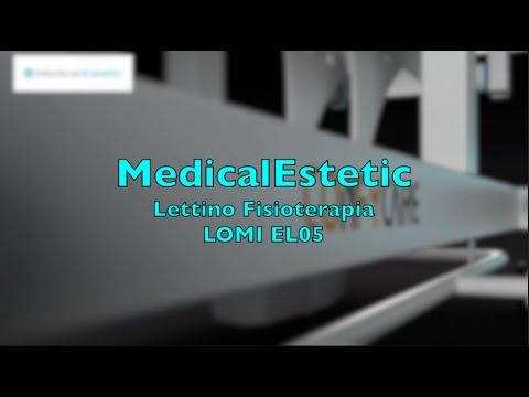 LOMI Lettino fisioterapia 3 sezioni