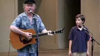 The Marvelous Toy  <b>Tom Paxton</b> With Sean Silvia At Mason District Park In Annandale VA