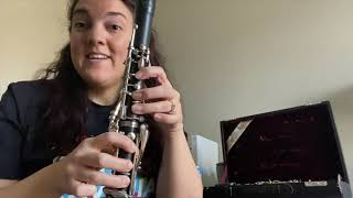 Sistema Ravinia Instructor: Playing Low Notes on the Clarinet