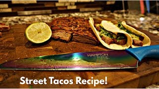 Mexican Street Tacos Recipe!