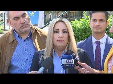 Φ. Γεννηματά: «Οι απόντες από αυτήν τη μάχη απλά διευκολύνουν τον ΣΥΡΙΖΑ»