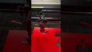 LaserING 60×40 – cortando papel