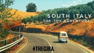 (ENG) South Italy tuk-tuk adventure: travel documentary