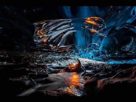 Исландия, Ледяные пещеры ледника Ватнайё
