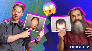 Formerly Bald People Go Bald Again // Presented by Bosley