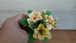 Мыльный букет /Букет лилий/сувенир в подарок
