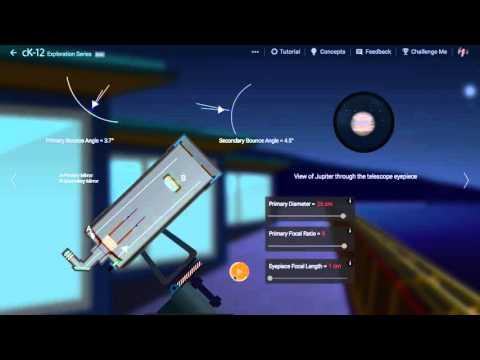 Cassegrain Telescope Walkthrough Video